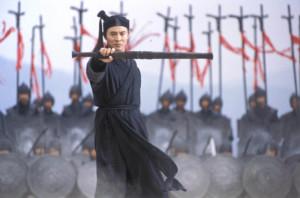 Extrait du film Hero de Zhang Yimou. Crédit Sil-Metropole Organisation, Zhang Yimou Studio, Beijing New Picture Film.