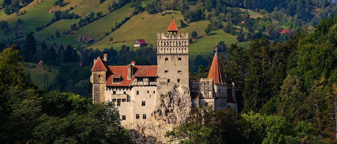 Le château de Bran. Crédit Bran-castle.com