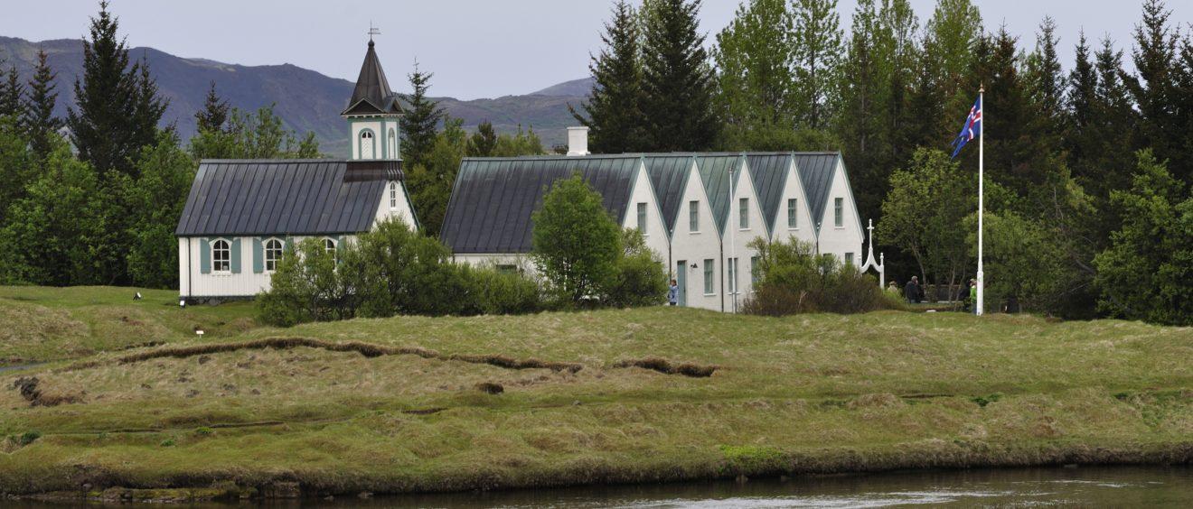 La maison de vacances du Premier ministre Sigmundur Davíð Gunnlaugsson. Crédit Johan Wieland (Flickr).