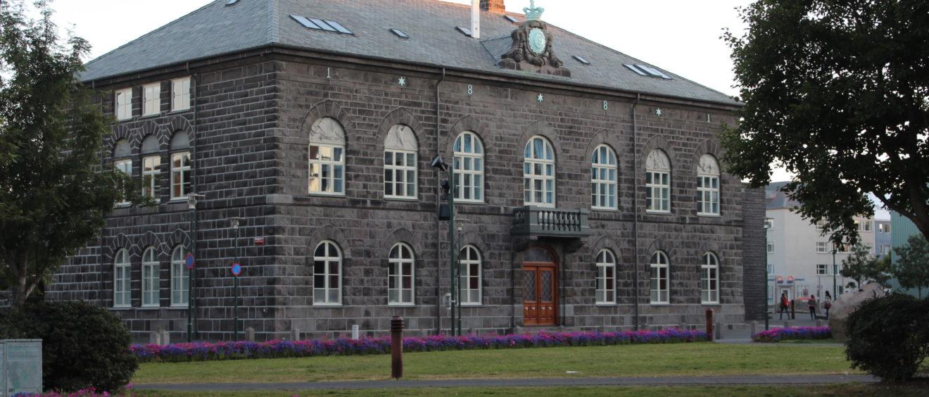 Le Parlement islandais, Reykjavik. Crédit Zinneke.
