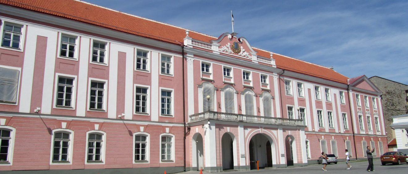 Le Parlement estonien, théâtre de la seconde déclaration d'indépendance en 1991. Crédit Marianne Fevrier.