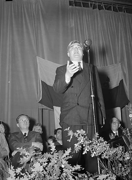 Aneurin Bevan, le fondateur du NHS. Image de domaine public.