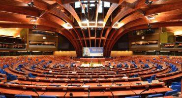 Assemblée parlementaire du Conseil de l'Europe. Crédit Adrian Grycuk.