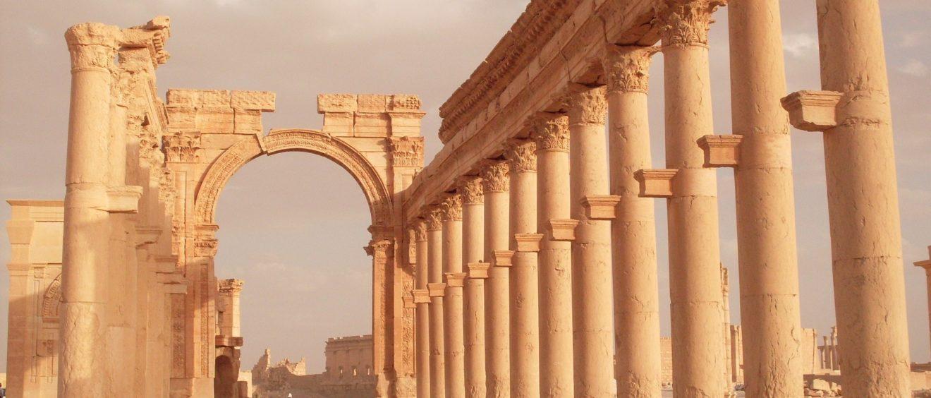 Les ruines de Palmyre, Syrie, 2009. Crédit andrelambo (Pixabay).