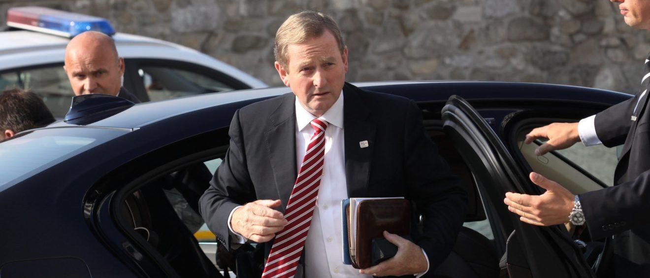 Taoiseach Enda Kenny. 16 septembre 2016. Crédit Andrej Klizan.