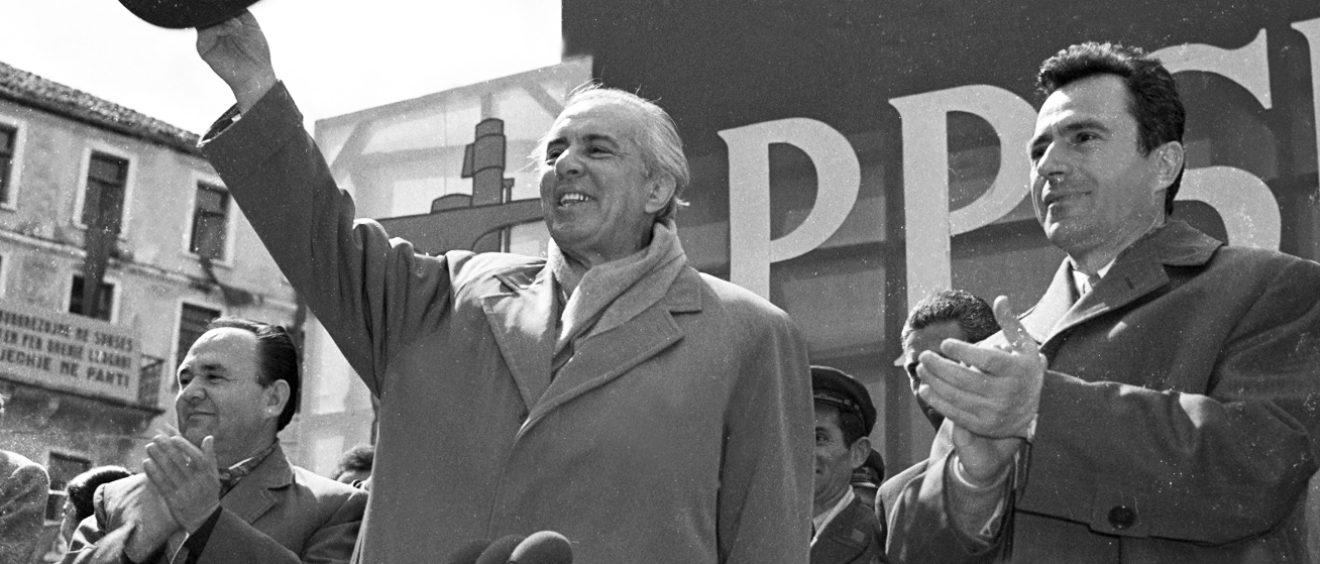 Enver Hoxha. Crédit Petrit Kumi.