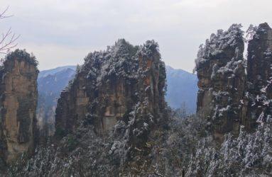 Parc national de Zhangjiajie. Crédit Marion Obert.