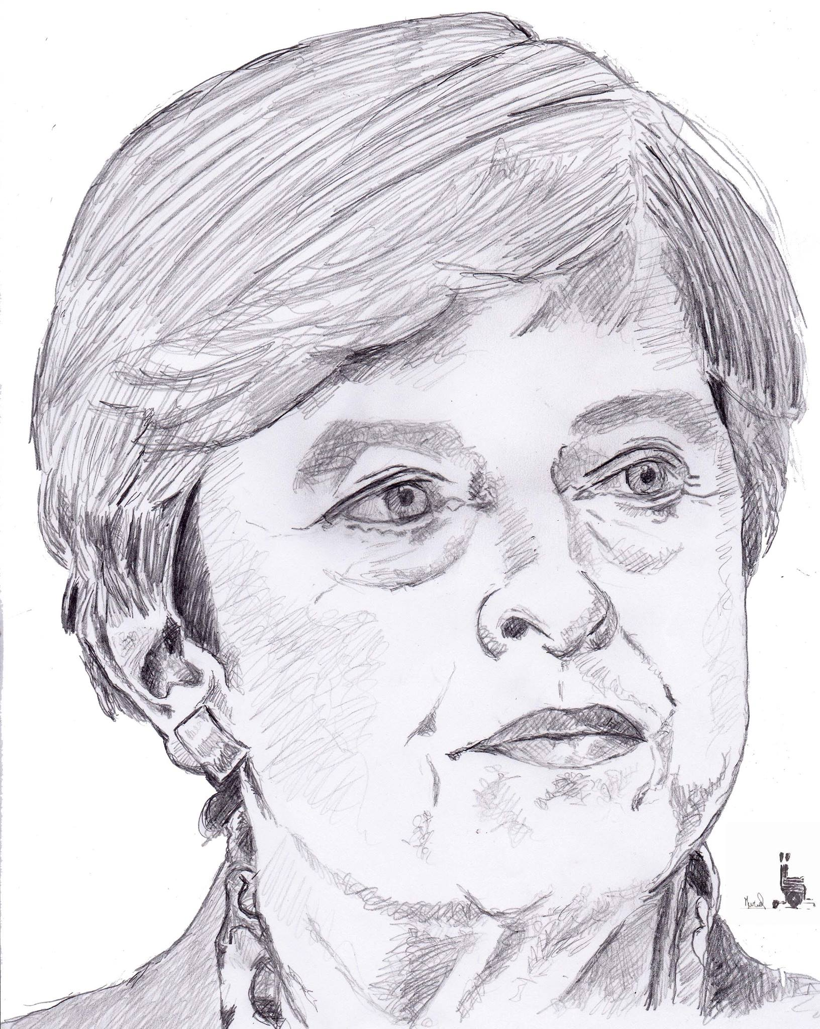 Theresa May. Crédit Muriel Epailly.