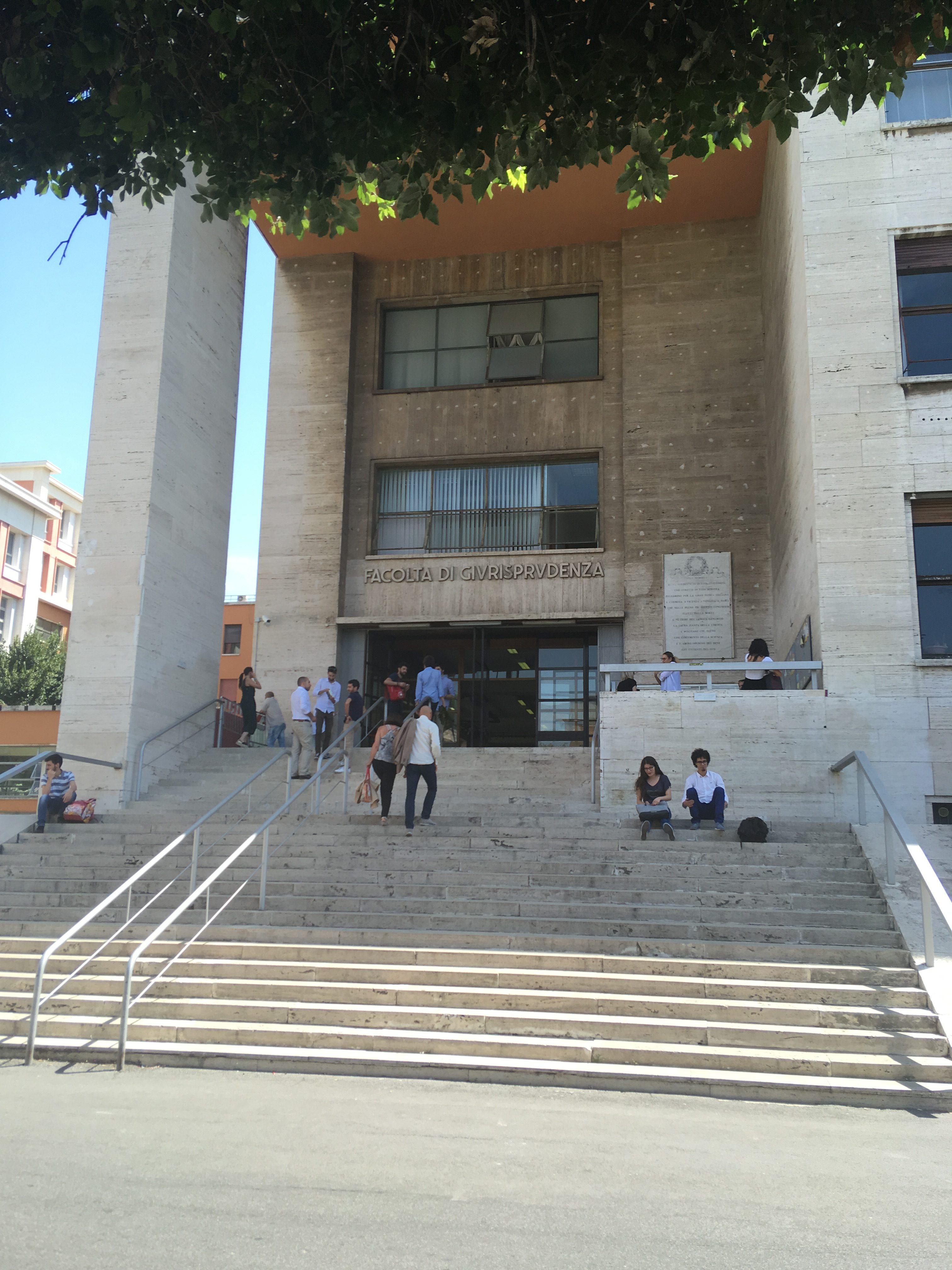 Campus de La Sapienza, Rome. Crédit Marion Huguet.