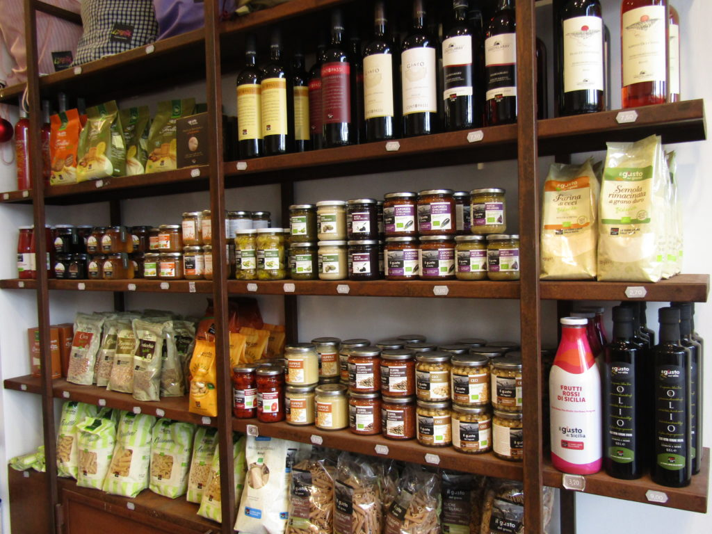 Les produits giusto dans la boutique de Libera Terra