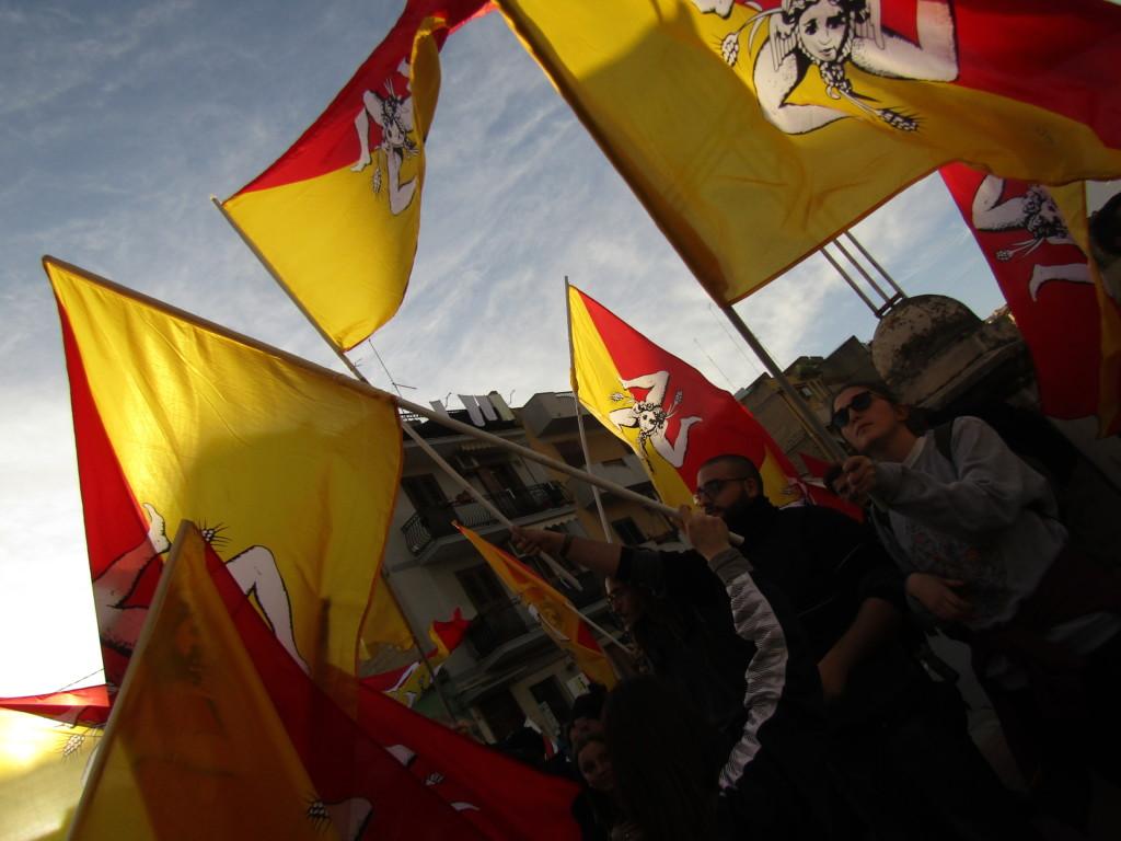 Le mouvement pour l'indépendance de la Sicile Crédits : Elisa Querré