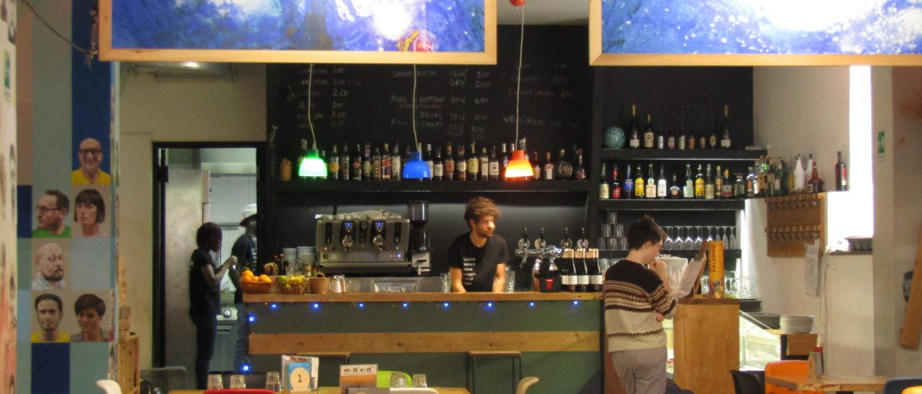 Le bar-restaurant de Moltivolti Crédits : Elsa Pécot