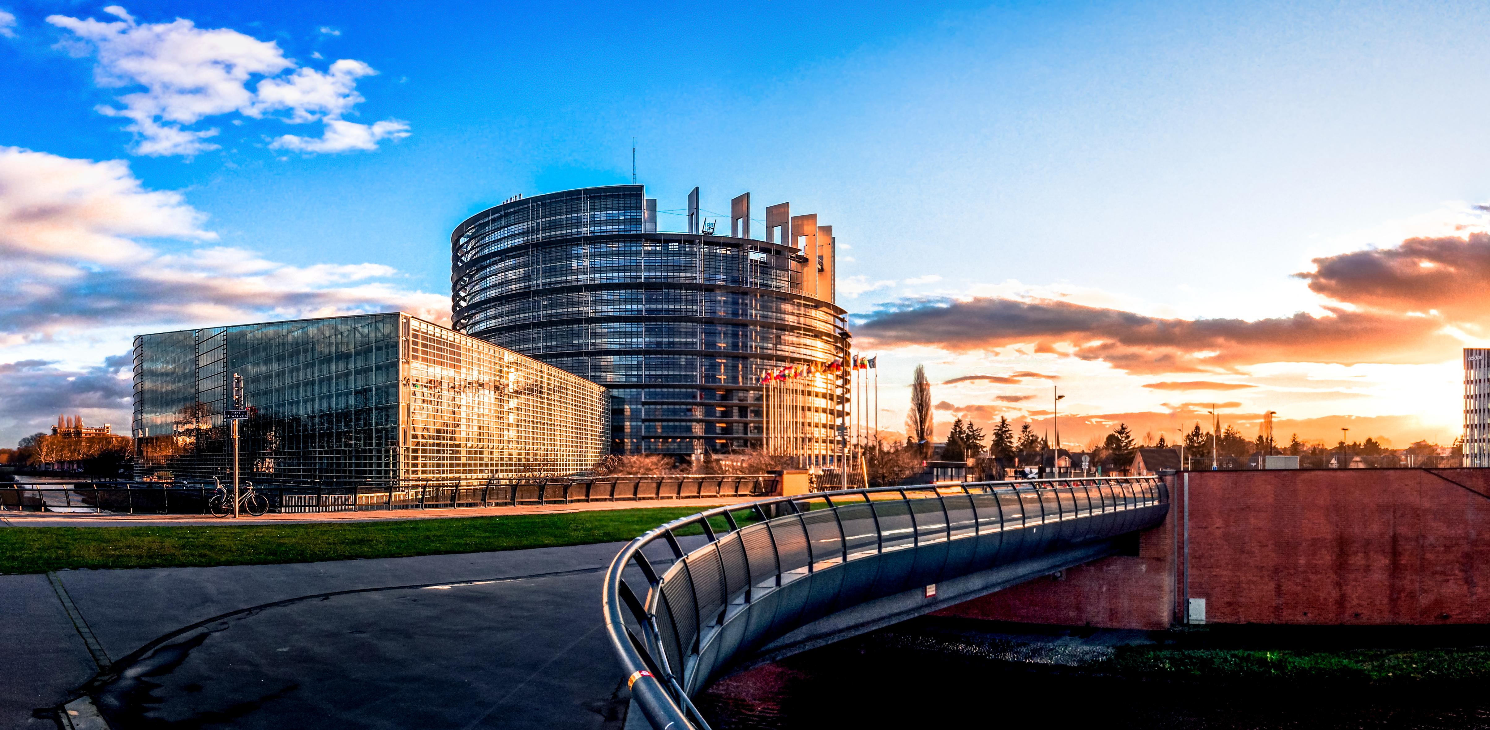 Parlement européen extérieur Strasbourg
