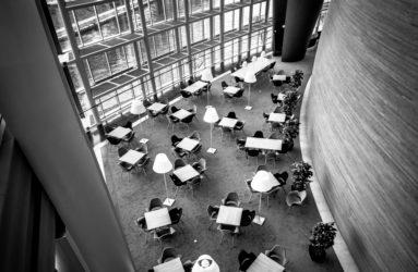 Espace presse du Parlement européen, Strasbourg.