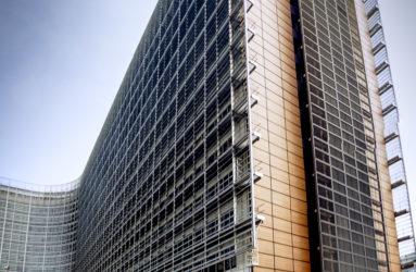 Berlaymont, siège de la Commission européenne, Bruxelles.