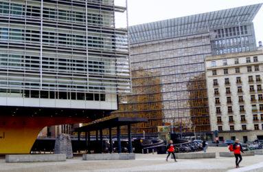 Berlaymont et siège du Conseil européen, Bruxelles.