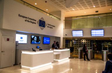Le Comité européen des régions réunit par exemple des représentants élus (350 membres et autant de membres suppléants) issus de différentes collectivités territoriales des Etat-membres. Comité européen des régions, Bruxelles.