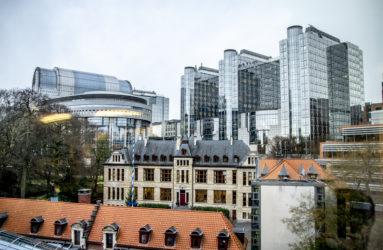 Parlement européen, Bruxelles.