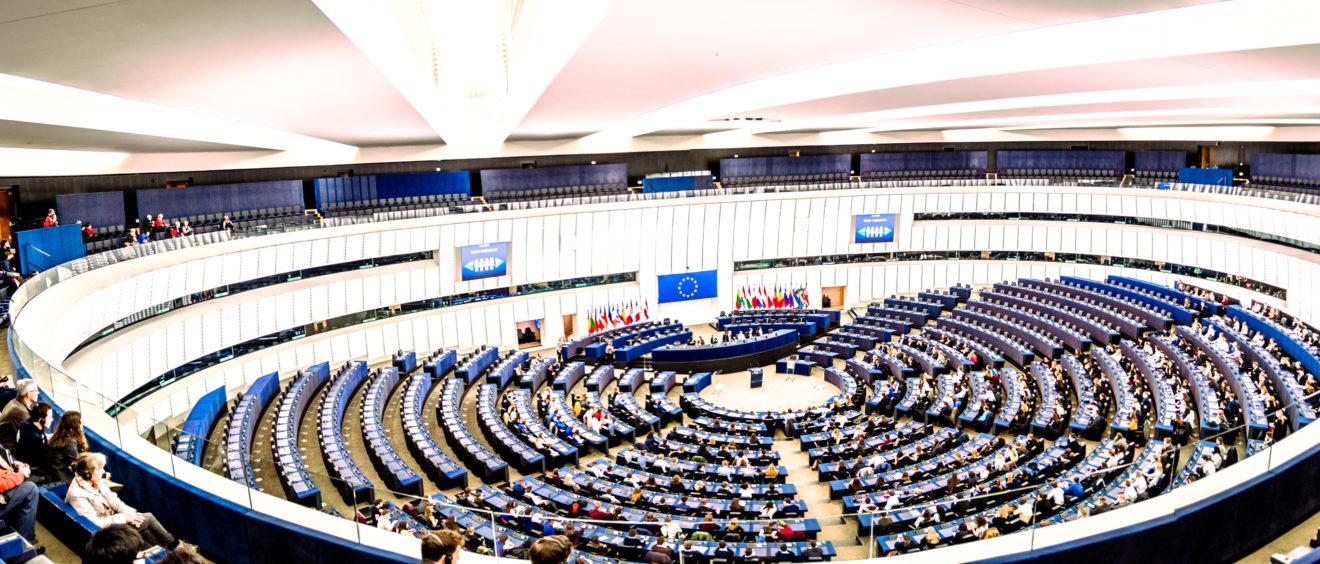 Parlement européen, Strasbourg.