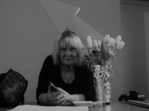 Letizia Battaglia dans le Centre International de la Photographie à Palerme Crédits : Elsa Pécot