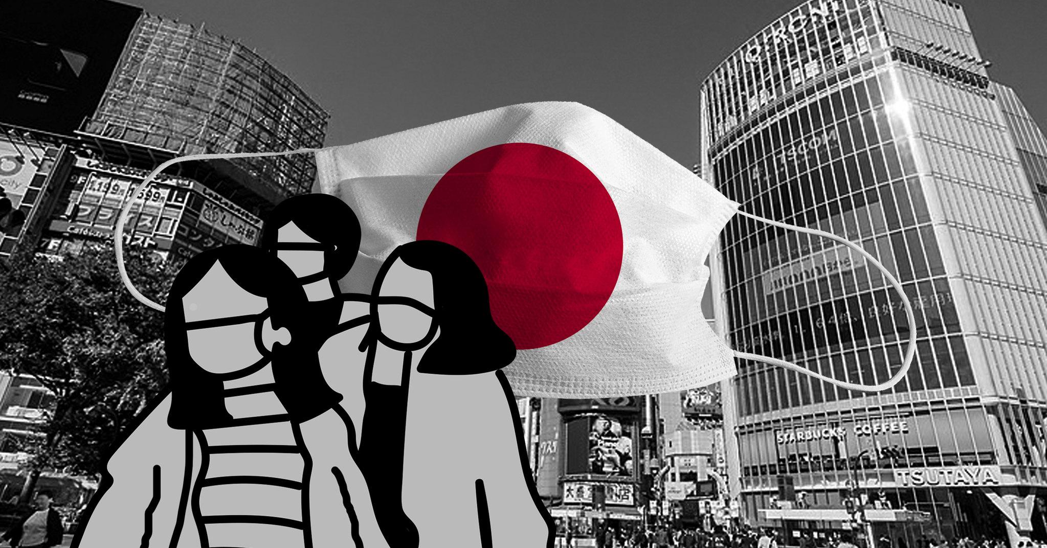 Covid-19 au Japon, illustration