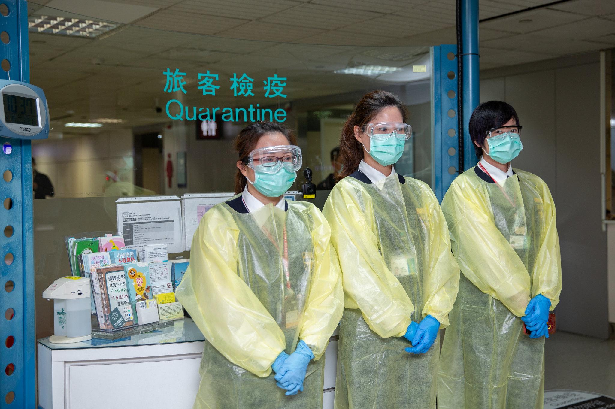 7 avril 2020, médecins chercheurs à Taiwan, durant la crise du Covid-19