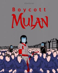 illustration Mulan