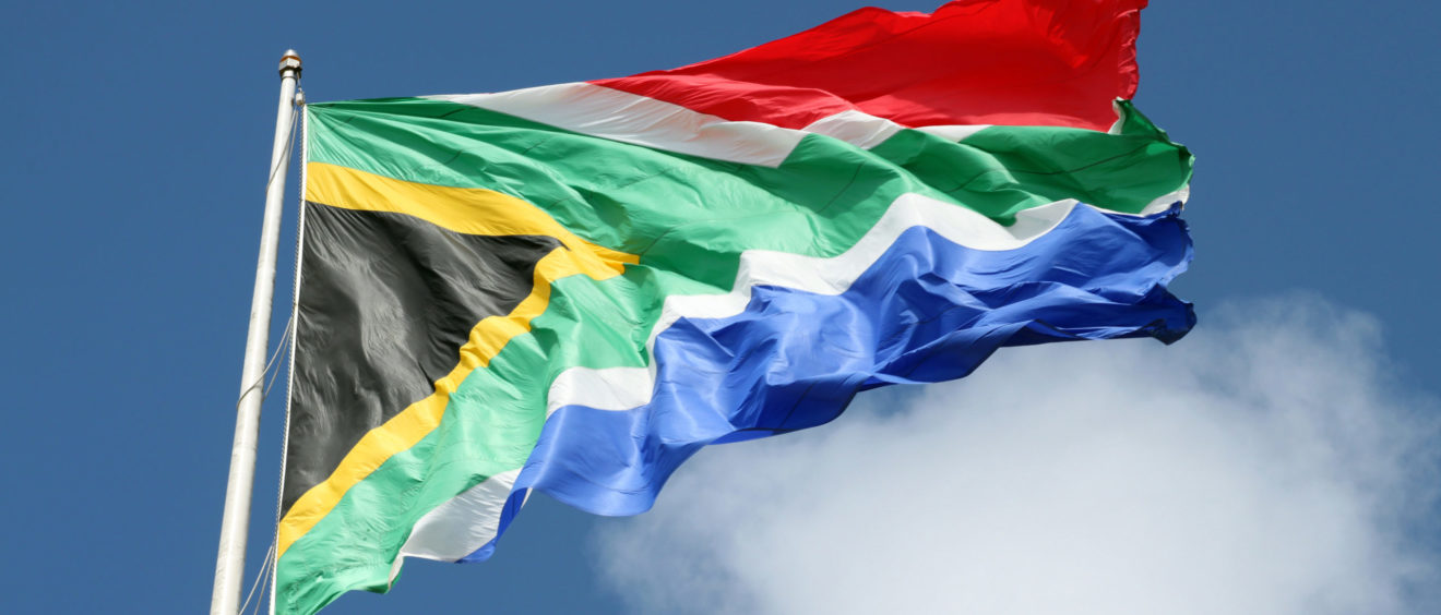 Drapeau de l'Afrique du Sud