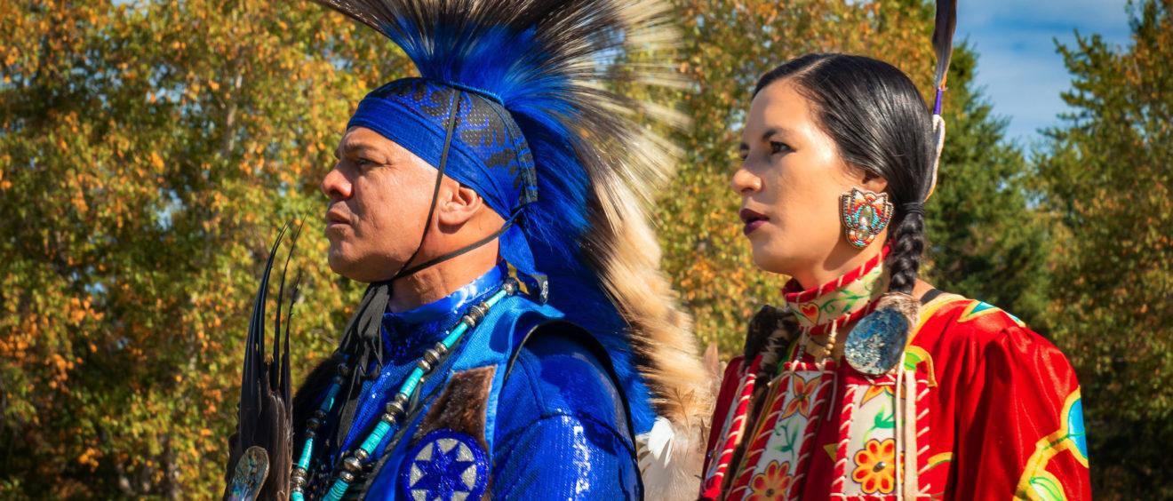 """Le peuple Mi'kmaq est un peuple autochtone issu des """"Premières Nations"""". Ils habitent principalement dans les provinces de l'Atlantique et en Gaspésie."""