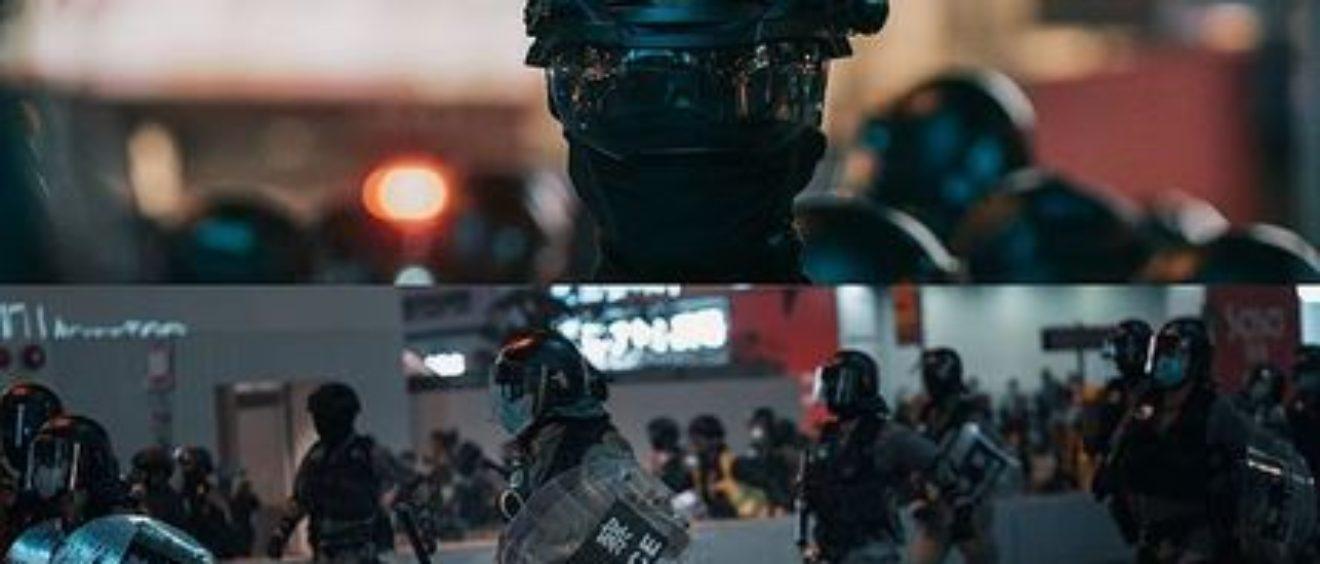 Reprise des manifestations à Mong Kok, dans la banlieue de Kowloon à Hong Kong le 29 février 2020.